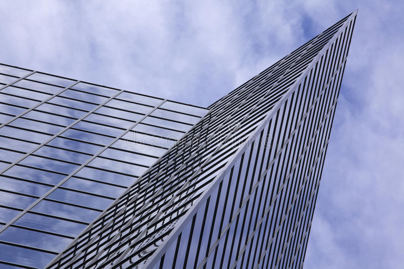 Download Modern Office Building With Cloud Reflection Stock Photo - Image: 14858932