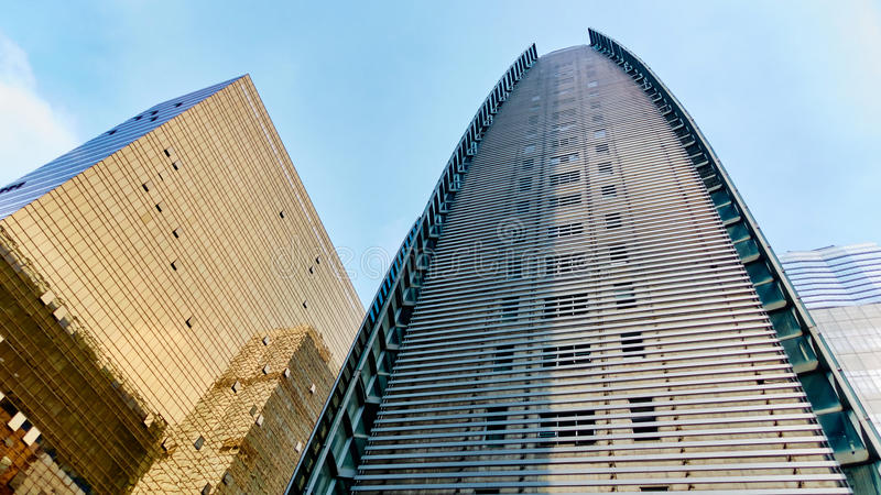 Modern office building stock image