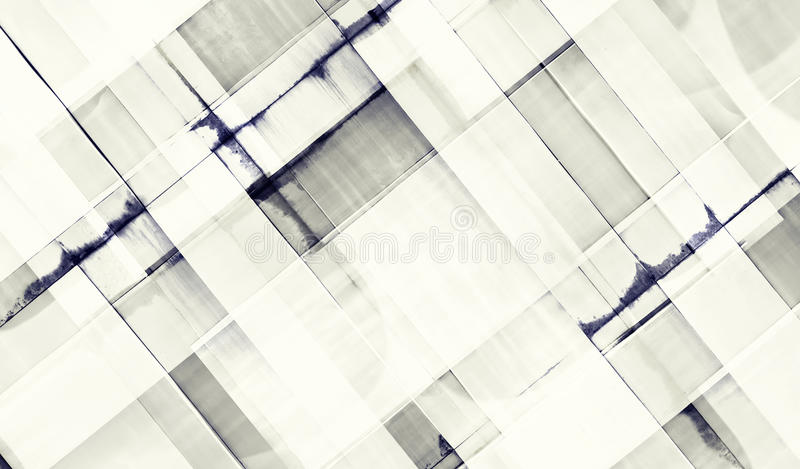 Modern office building with facade of glass. Buildings abstract stock images