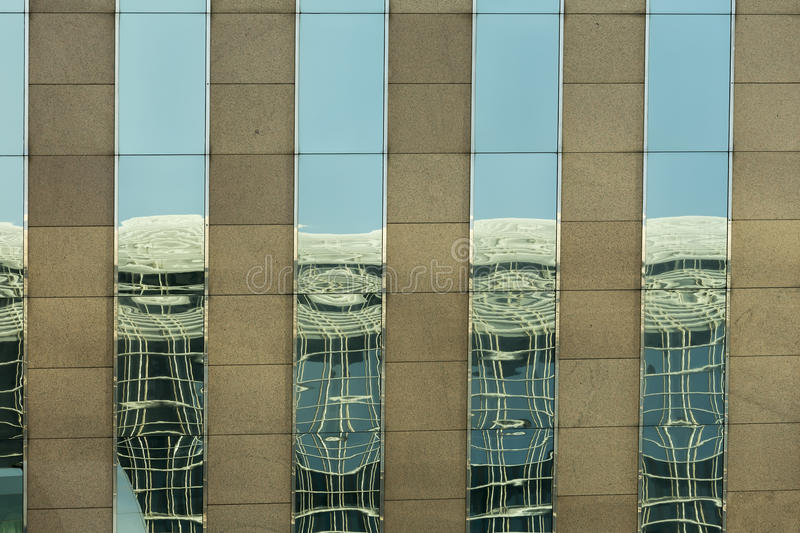 Modern office building facade royalty free stock images