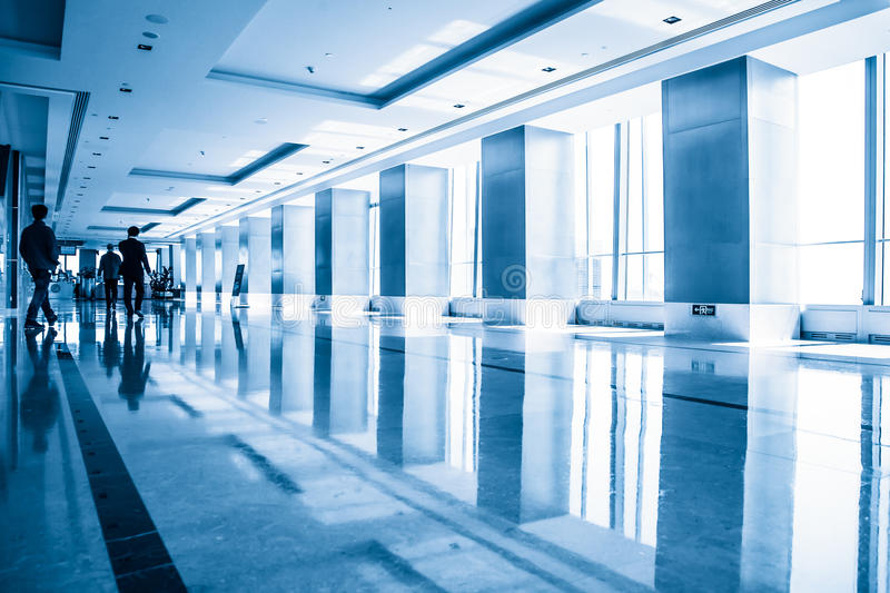 Modern office building interior. China stock images