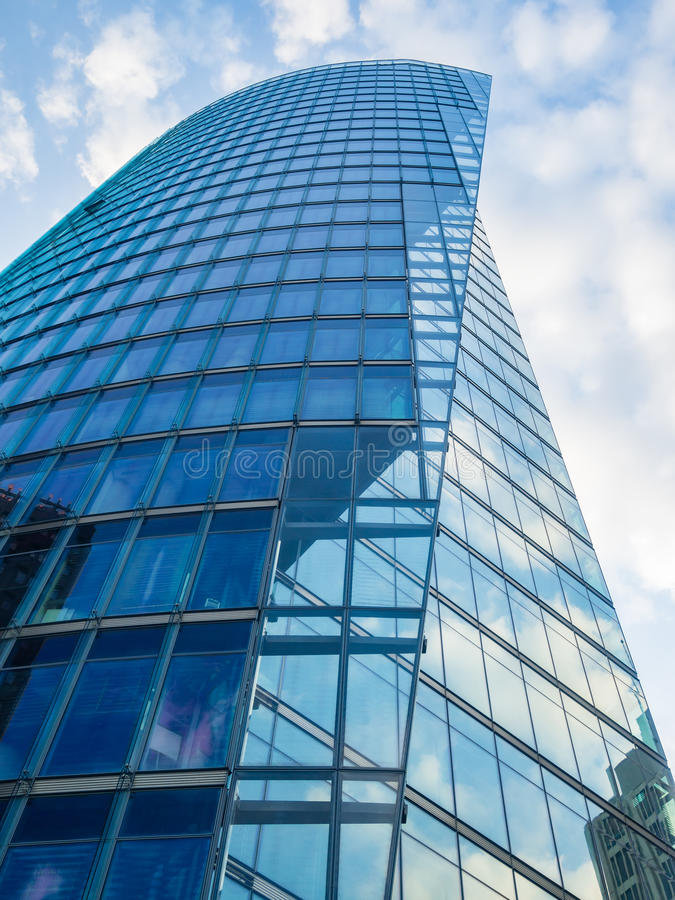 Modern office building at Potsdamer Platz, Berlin royalty free stock photo