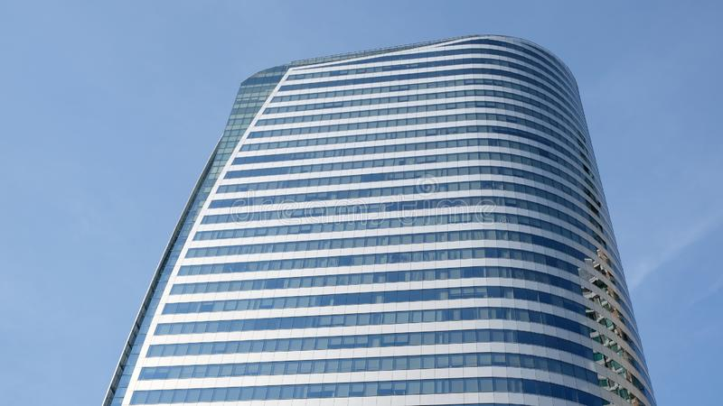 Modern office building Sathorn Square royalty free stock images