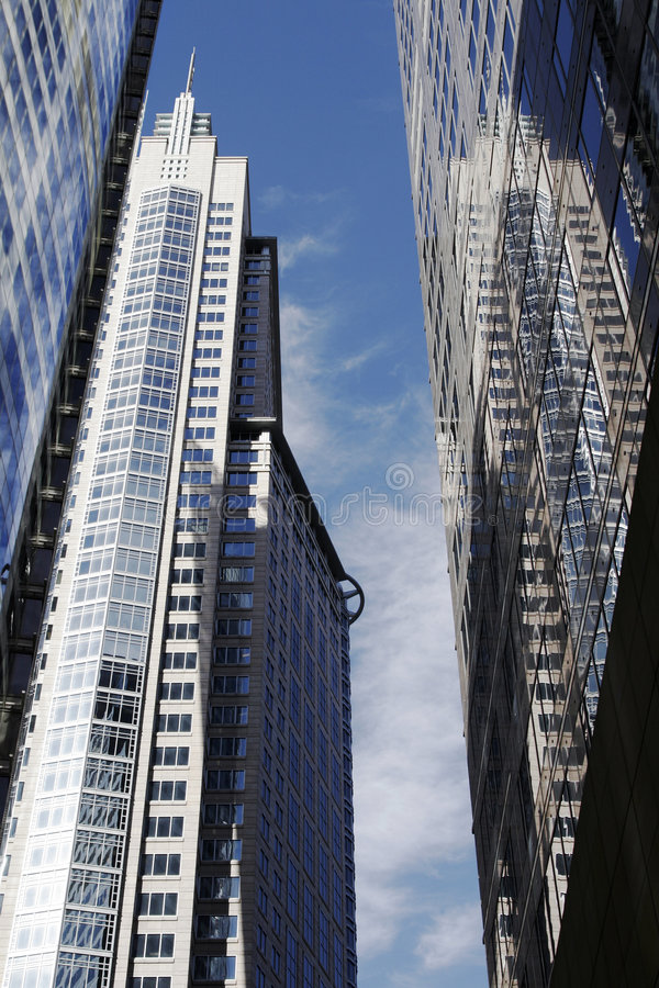 Modern Office Building In Sydney, Australia stock images