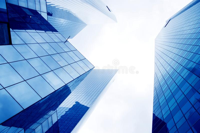 Modern Office Buildings Royalty Free Stock Images