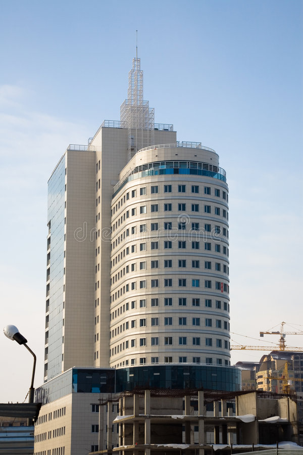 Modern office buildings. royalty free stock photography