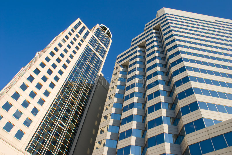 Download Modern Office Buildings stock photo. Image of clear, busy - 7531214