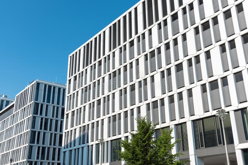 Modern office buildings in Berlin royalty free stock images