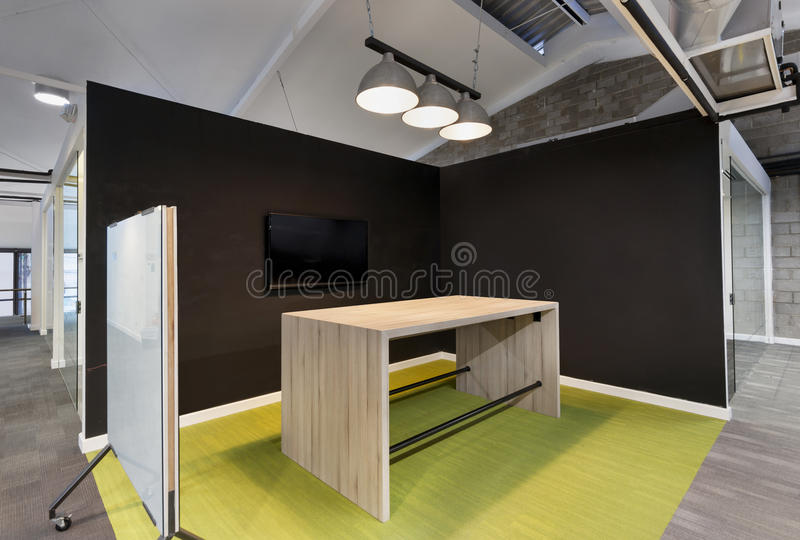 Modern office coworking space royalty free stock photo