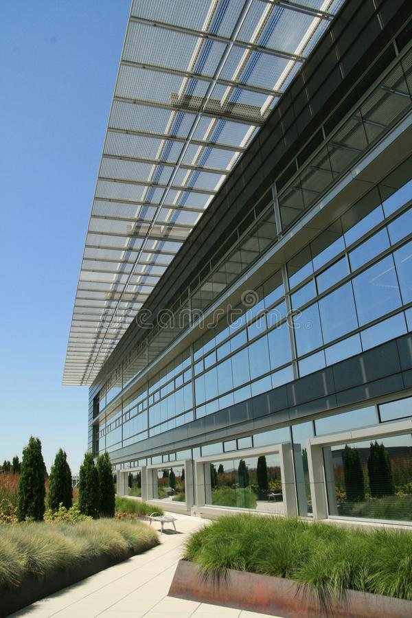 Download Modern Office Exterior Walkway Stock Image - Image of american, business: 25699527