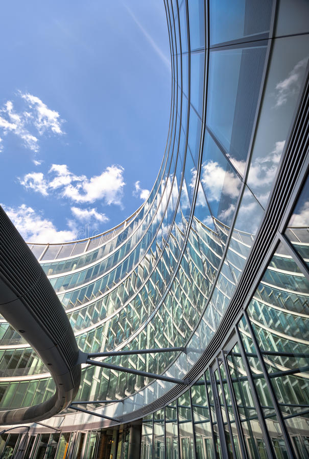 Download Modern Office Finance Building Curved Architecture Royalty Free Stock Photo - Image: 26283955