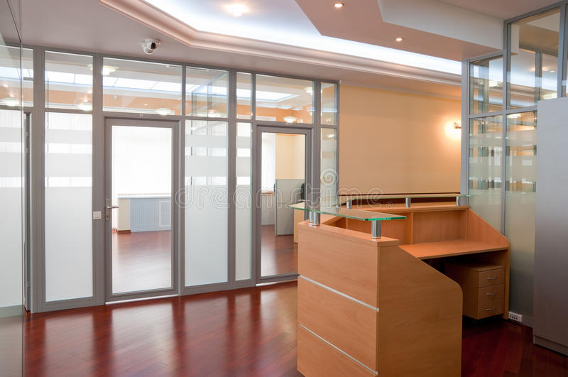Download Modern office interior stock photo. Image of corporate - 14499008
