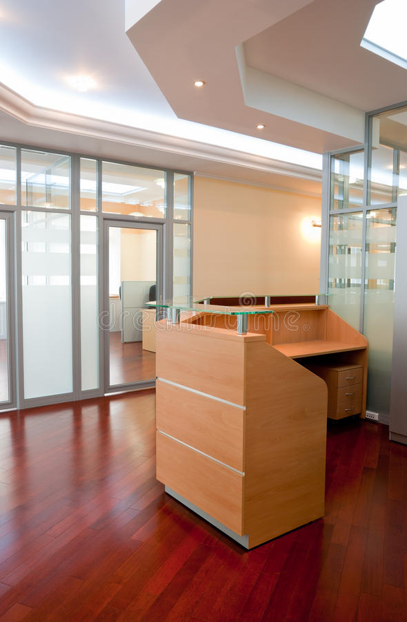 Download Modern office interior stock photo. Image of hall, comfortable - 14499012