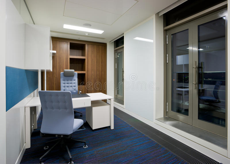 Modern office interior. Small room stock image
