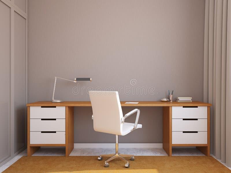 Modern office interior. vector illustration
