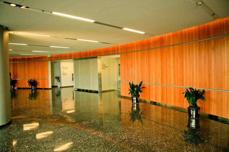 Download Modern Office Lobby stock image. Image of industrial - 25699479