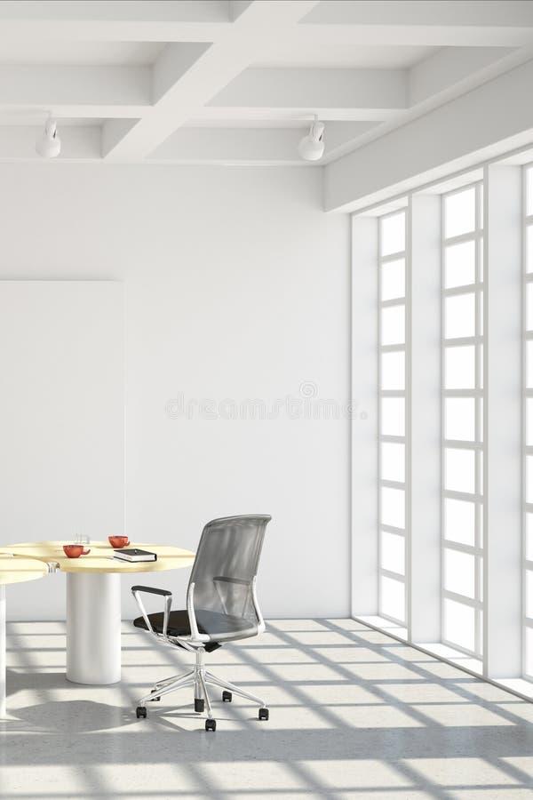 Modern office loft style stock illustration