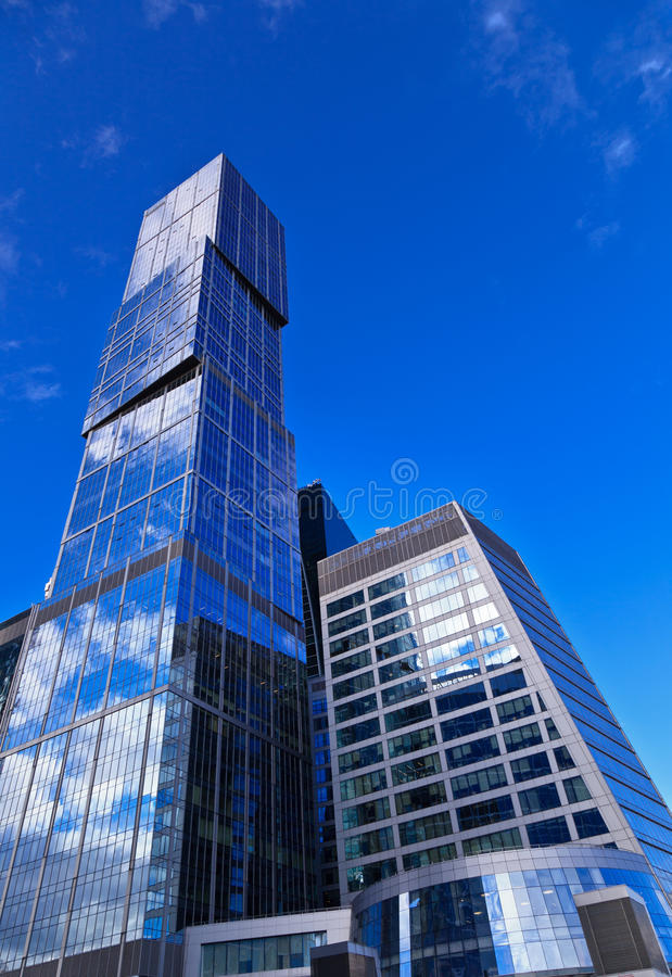 Download Modern office skyscrapers stock photo. Image of public - 26535274