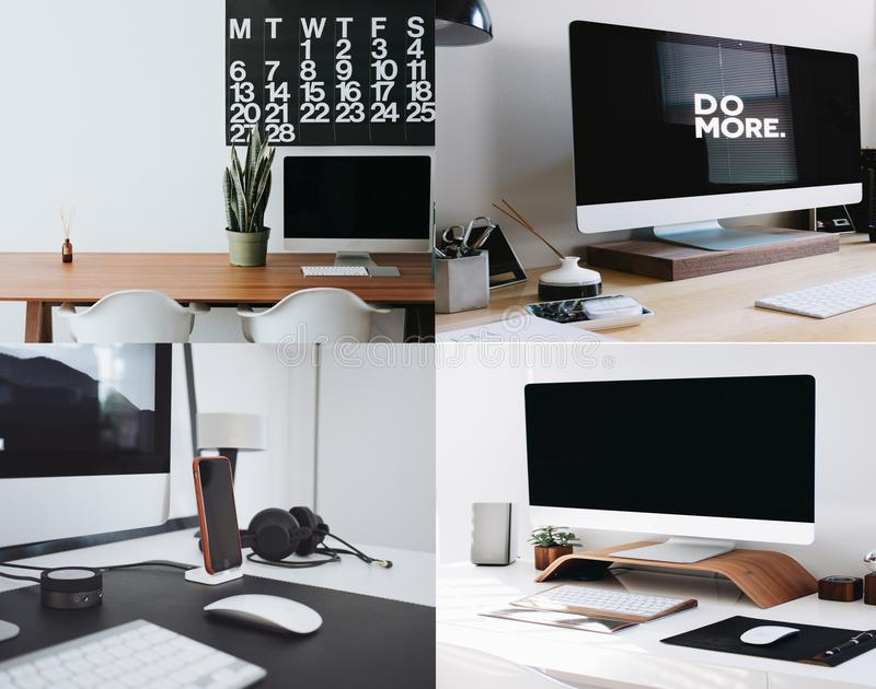 Download Modern Offices stock image. Image of electronics, collection - 99850325