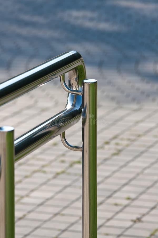 Modern open railing stock photos