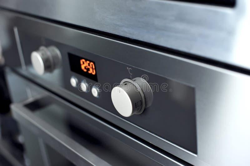 Modern oven stock image