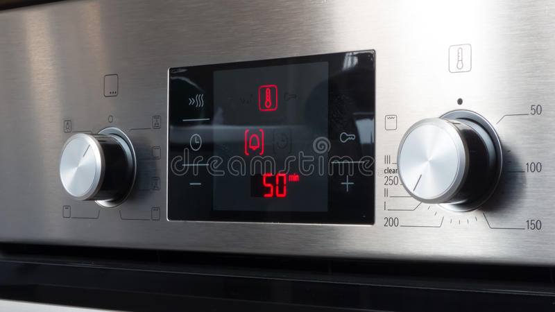 Modern Oven royalty free stock photography