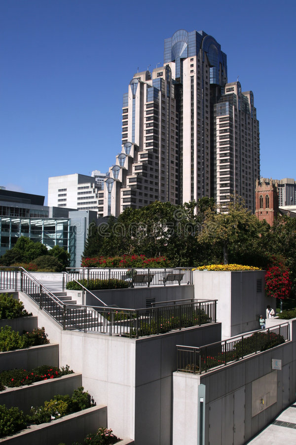 Modern Part Of San Francisco Stock Images