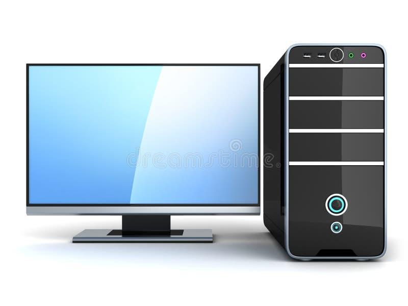 Modern PC Stock Photo