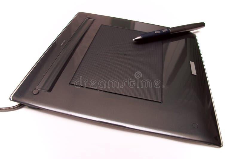 modern penntablet för digitizer arkivbild