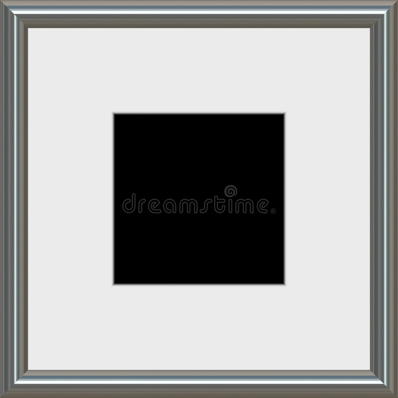 Download Modern photo frame stock illustration. Illustration of edges - 3642353