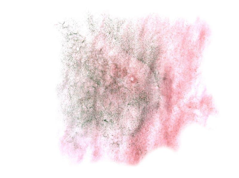 Modern pink,green art avant-guard artist seamless background cu. Bism abstract art texture watercolor wallpaper royalty free stock image