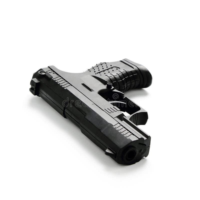 modern pistol royaltyfri bild