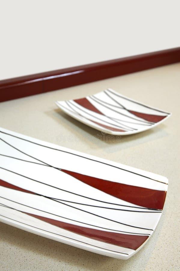 Modern plates