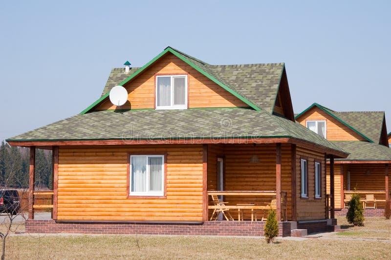 Modern plattelandshuisje royalty-vrije stock afbeeldingen