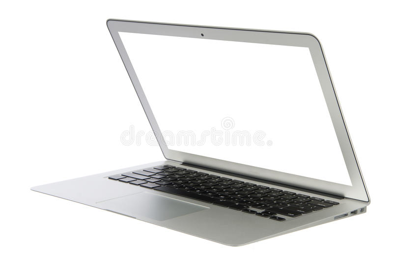Modern popular business laptop notebook computer