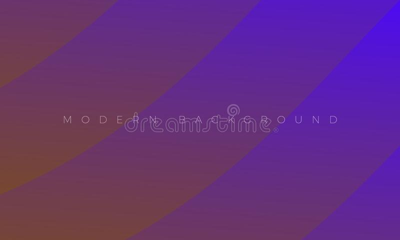 Modern Premium Violet Purple background and  Abstract dramatic wallpaper illustration with stylish color curved lines. Rich electric abstract background for royalty free illustration