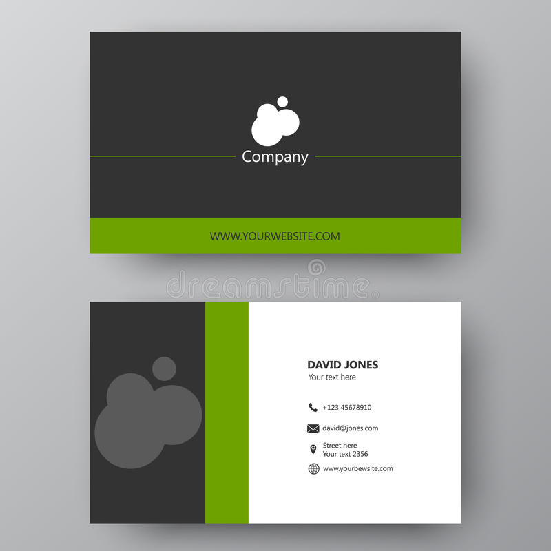Modern presentation card with company logo vector business card download modern presentation card with company logo vector business card stock vector illustration of colourmoves