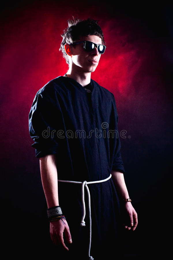 Download Modern priest stock image. Image of spiritual, sunglasses - 23599849