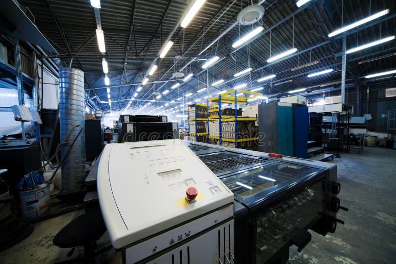 modern printing för hus royaltyfri bild