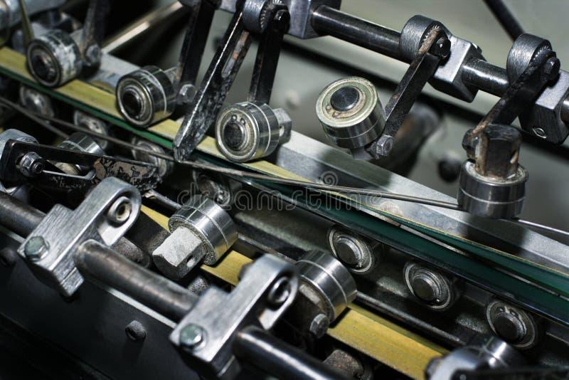Modern printing house stock image