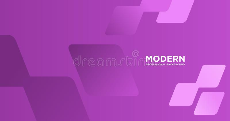 Modern professional abstract background royalty free illustration