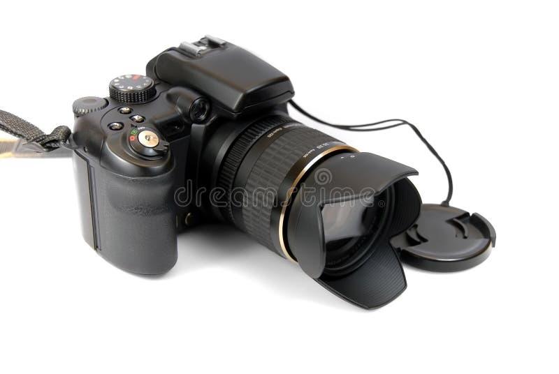Modern professional camera SL royalty free stock photography