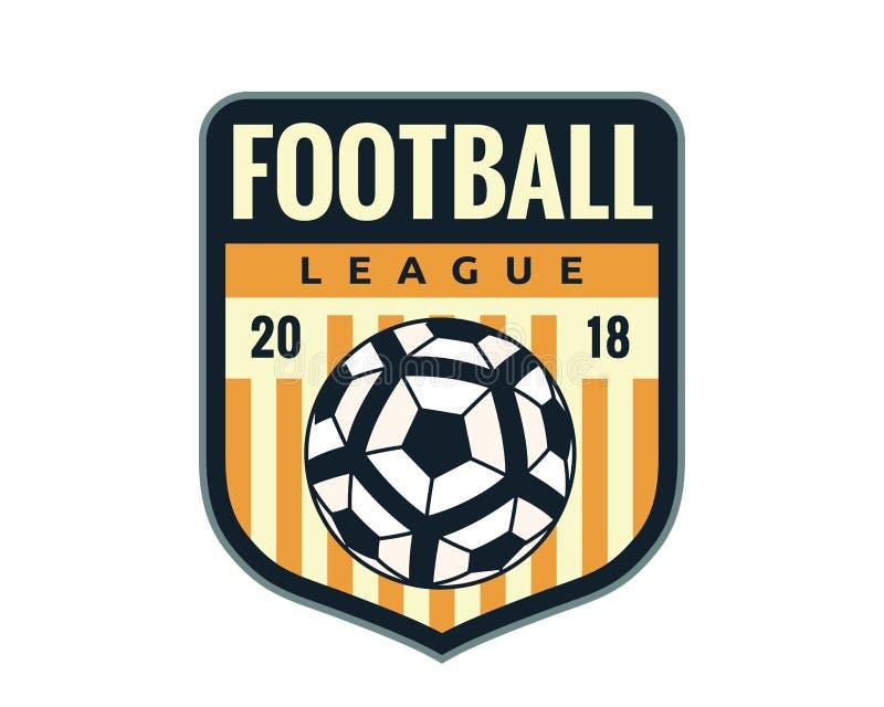 Modern Professional Soccer Logo Badge Illustration vector illustration