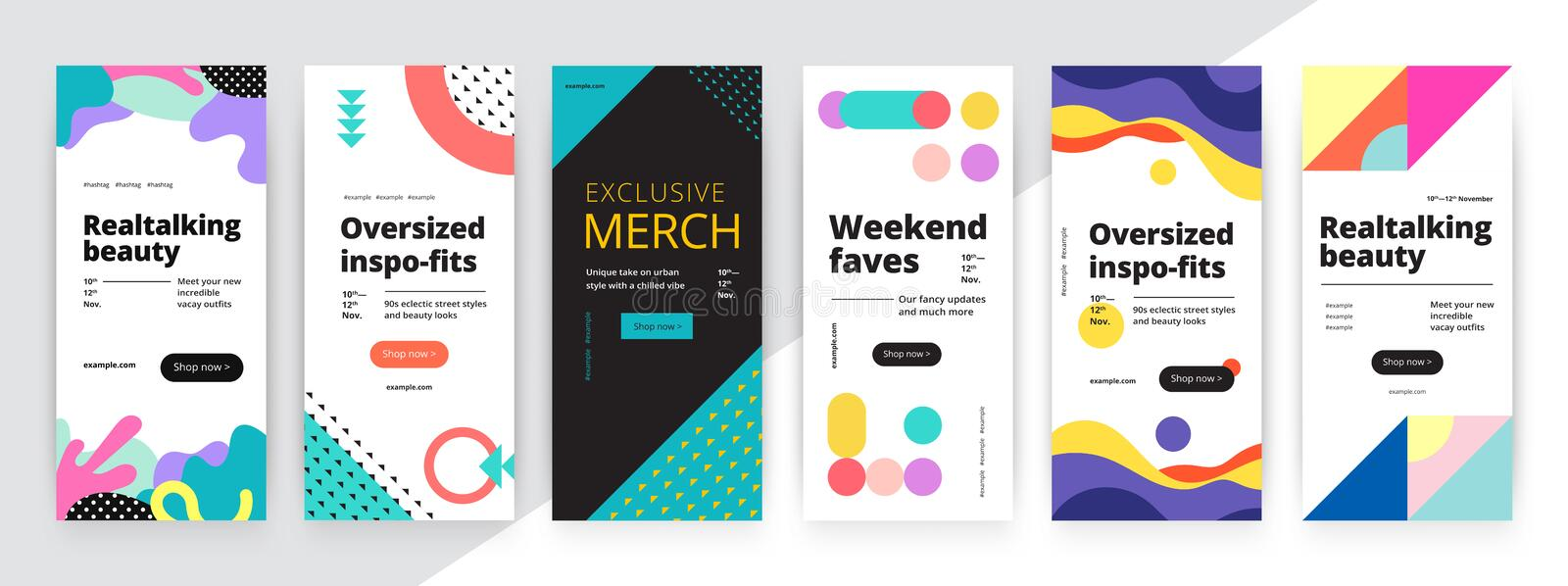 Modern promotion rectangular web banner for social media mobile apps. Elegant sale and discount promo backgrounds with abstract stock photography