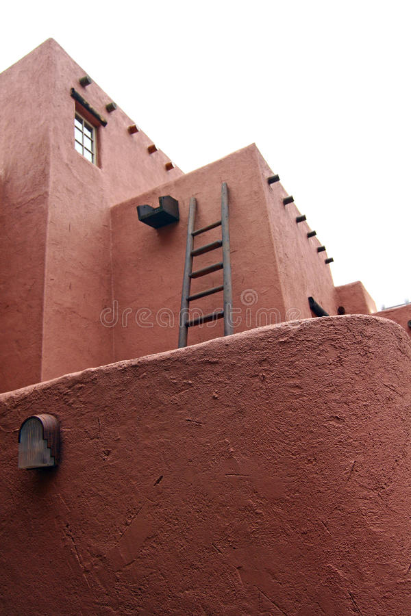 Modern Pueblo Architecture stock image