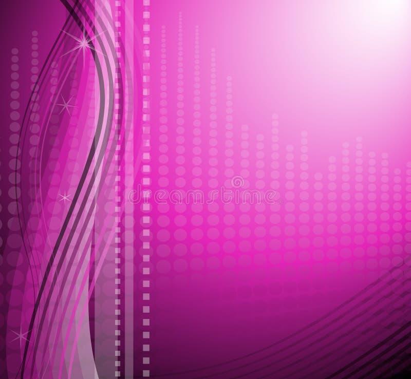 Modern Purple Background stock illustration