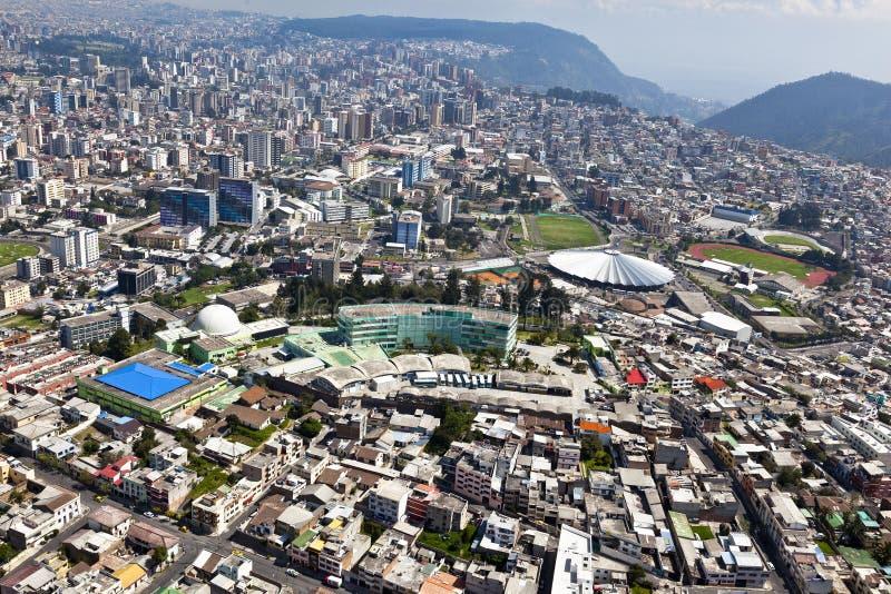 Modern Quito royaltyfria foton