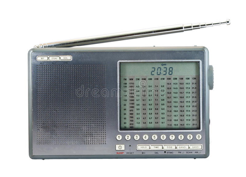 Modern Radio Receiver Stock Images