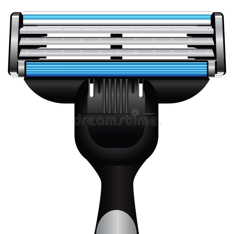 Modern razor vector illustration