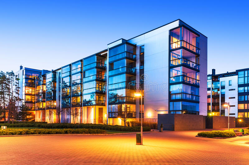 Modern real estate royalty free stock images